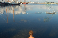 Carl ved havn